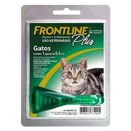 ANTIPULGAS FRONTLINE PLUS GATOS 0,5ML