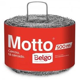 ARAME FARPADO BELGO MOTTO 500MT