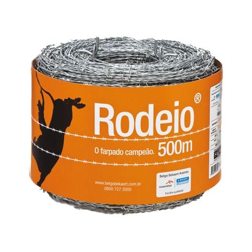 ARAME FARPADO BELGO RODEIO 500MT