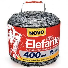 ARAME FARPADO ELEFANTE 400MT