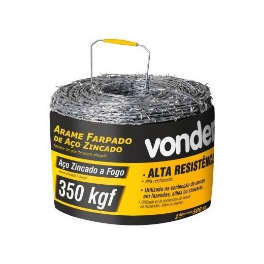 ARAME FARPADO VONDER 500MT