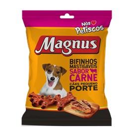 BIFINHO MAGNUS MASTIGAVEIS PEQ CARNE 500GR