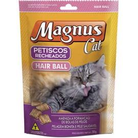 PETISCO MAGNUS CAT RECHEADO HAIR BALL 30GR