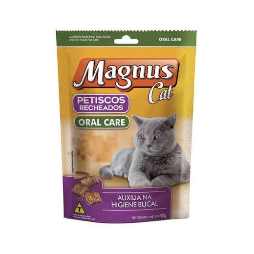 PETISCO MAGNUS CAT RECHEADO ORAL CARE 30GR