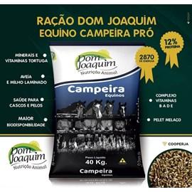 RAÇÃO EQUINO DOM JOAQUIM CAMPEIRA PRO 12P 40KG
