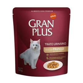 SACHE GATO GRAN PLUS 50GR TRATO URINARIO FRANGO